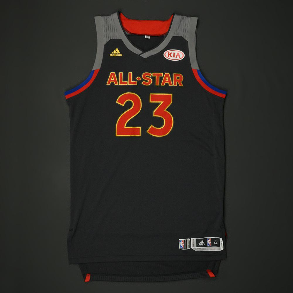 Draymond Green - 2017 NBA All-Star Game - Western Conference - Game-Worn Jersey - 1st Half Only