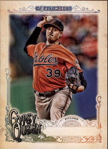 Photo of 2017 Topps Gypsy Queen Missing Nameplate #49 Kevin Gausman