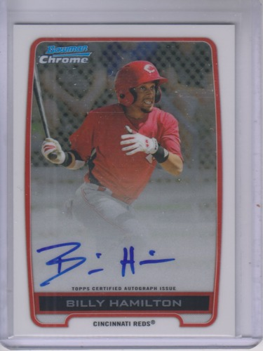 Photo of 2012 Bowman Chrome Prospect Autographs Billy Hamilton
