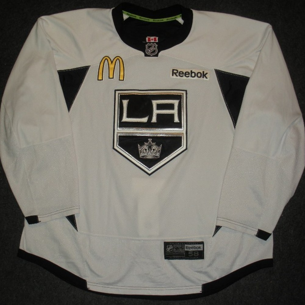 Kyle Clifford - 2014 Stanley Cup Final - Los Angeles Kings - Practice-Worn Jersey