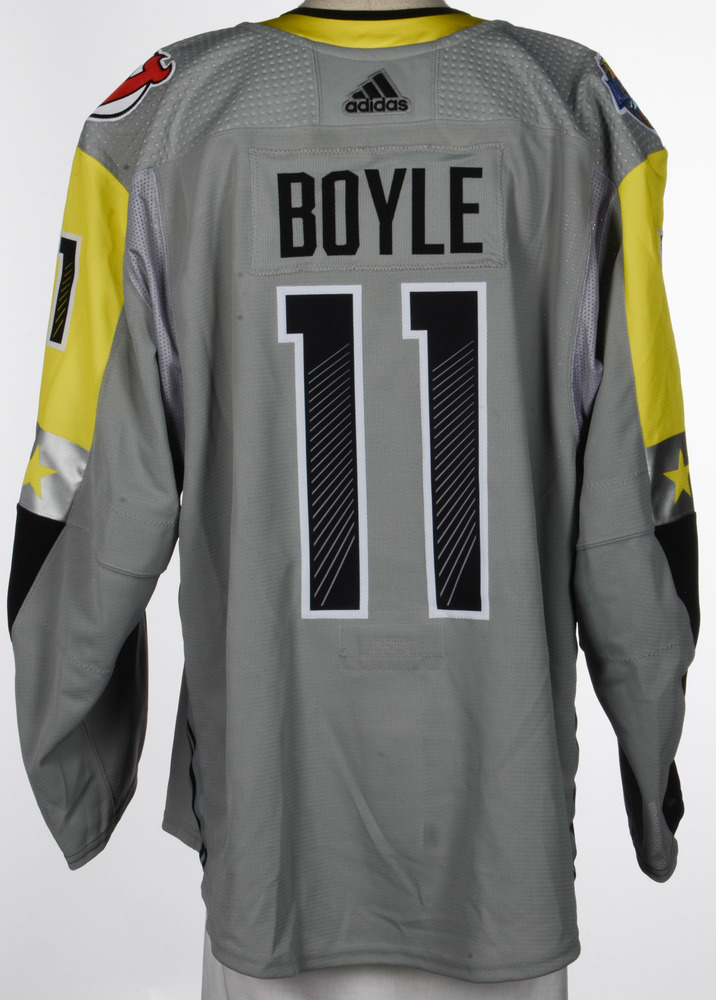 Brian Boyle New Jersey Devils Player-Issued 2018 All-Star Game Jersey