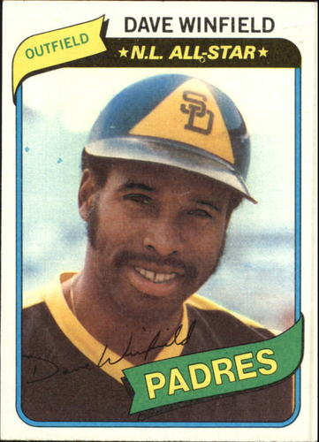 Photo of 1980 Topps #230 Dave Winfield