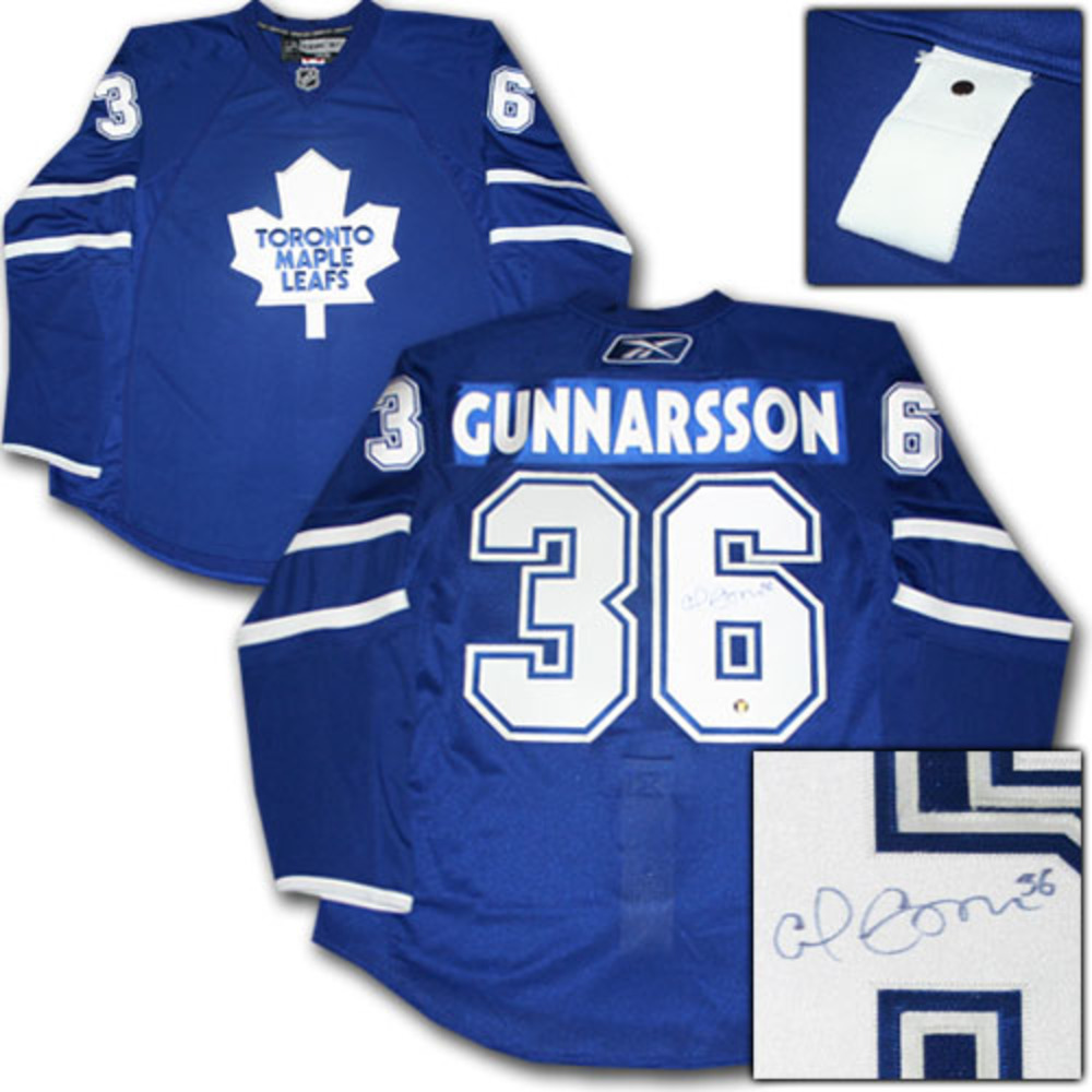 Carl Gunnarsson Autographed Toronto Maple Leafs Authentic Pro Jersey