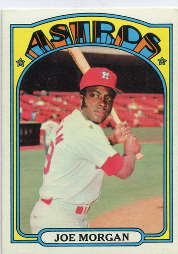 Photo of 1972 Topps #132 Joe Morgan Hall of Famer