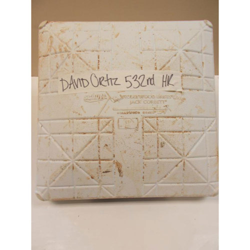 Photo of Game-Used Base: David Ortiz's 532nd Home Run