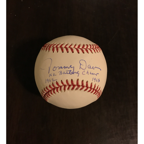 Photo of LA Dodgers Foundation Auction: Tommy Davis Autographed Baseball