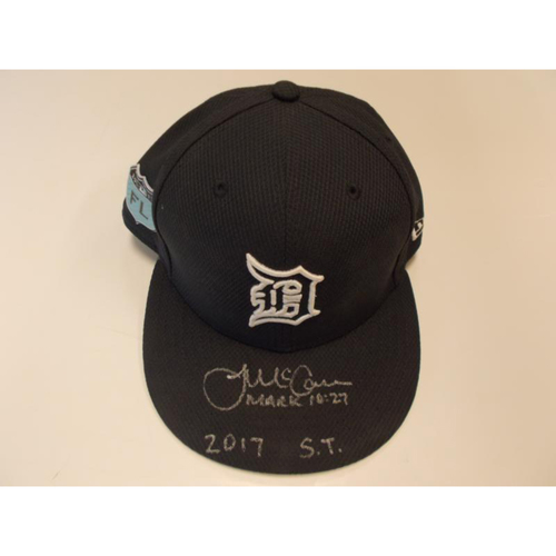 Autographed Team-Issued James McCann Spring Training Cap
