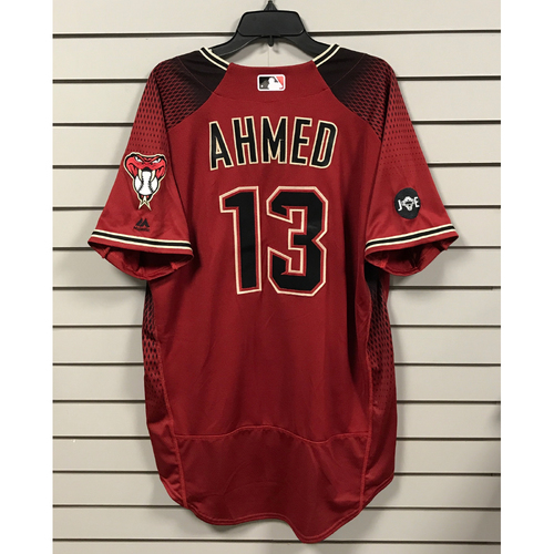 Photo of Nick Ahmed Team-Issued Alternate Jersey
