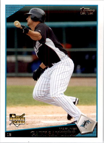 Photo of 2009 Topps #202 Gaby Sanchez RC