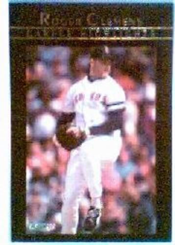 Photo of 1992 Fleer Clemens #9 Roger Clemens/Heeee's Back