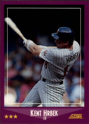 Photo of 1988 Score Glossy #43 Kent Hrbek