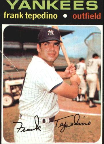 Photo of 1971 Topps #342 Frank Tepedino