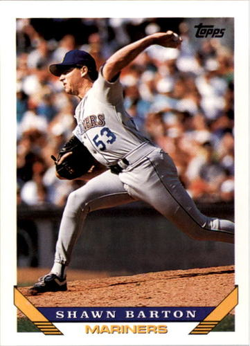 Photo of 1993 Topps #569 Shawn Barton RC
