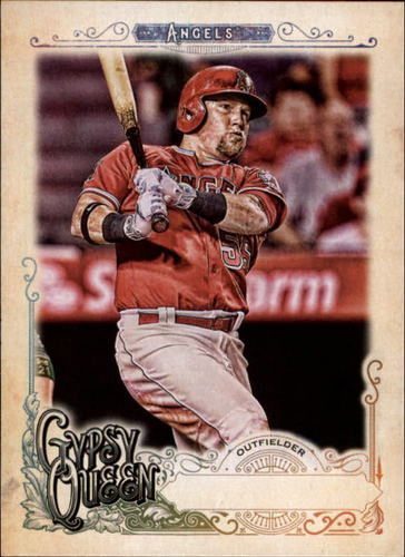 Photo of 2017 Topps Gypsy Queen Missing Nameplate #246 Kole Calhoun