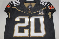 NFL - BENGALS REGGIE NELSON 2016 TEAM IRVIN GAME ISSUED PRO BOWL JERSEY - SIZE 40