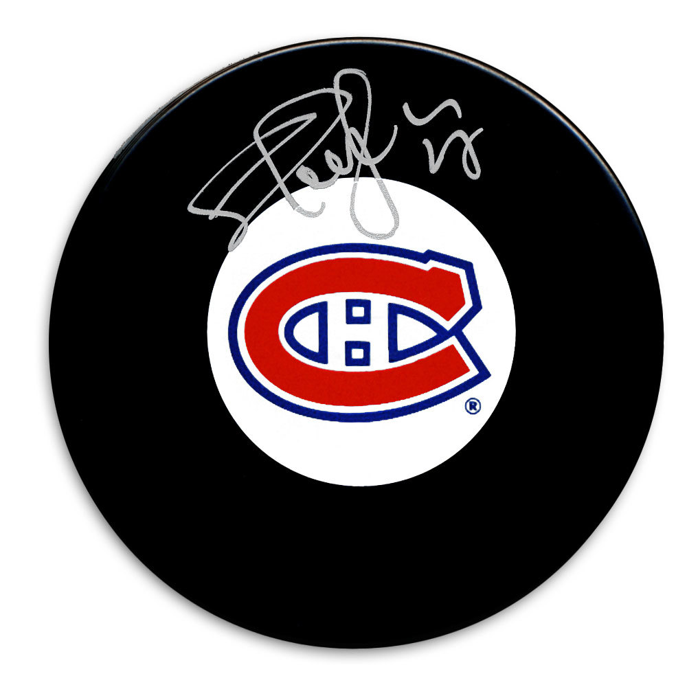 Shayne Corson Montreal Canadiens Autographed Puck