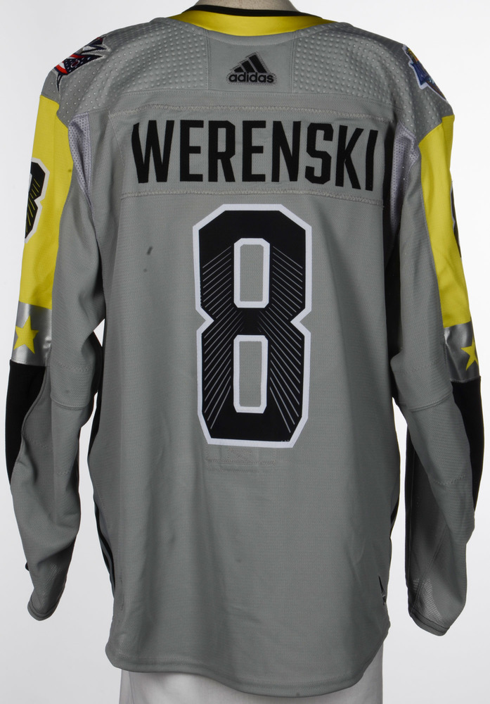 Zach Werenski Columbus Blue Jackets Player-Issued 2018 All-Star Game Jersey