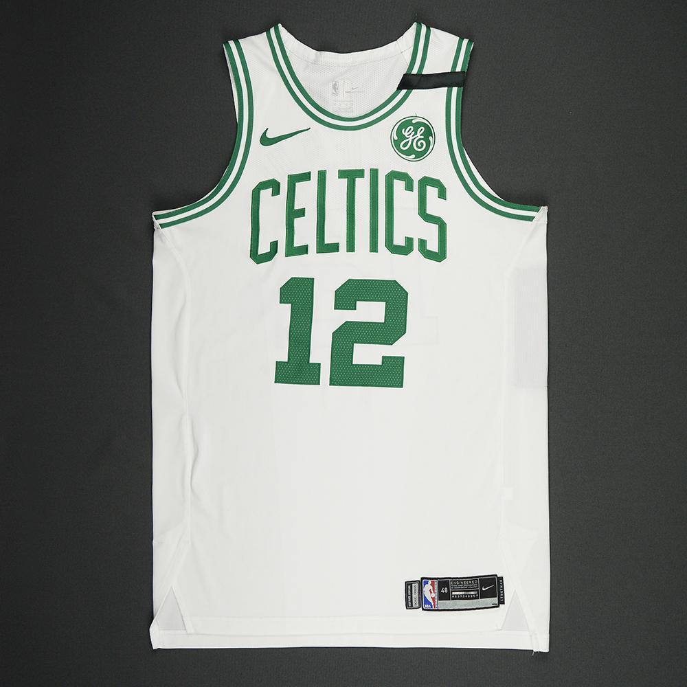 Terry Rozier - Boston Celtics - 2018 NBA Playoffs Game-Worn Jersey