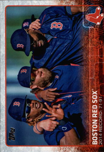 Photo of 2015 Topps #696 Boston Red Sox