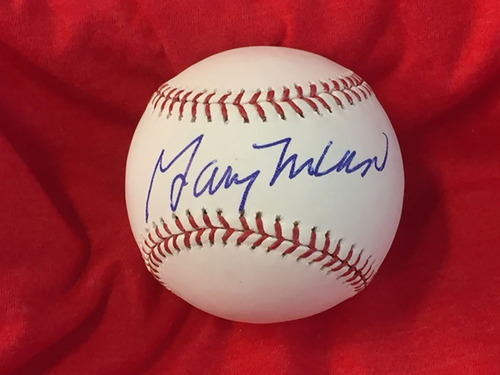 Photo of Gary Nolan Autographed Baseball