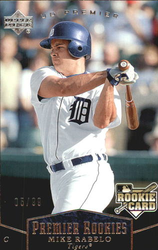 Photo of 2007 Upper Deck Premier Silver #210 Mike Rabelo RC /99