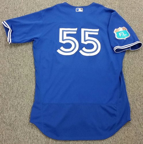 Photo of Authenticated Game Used 2016 Spring Training Jersey - Russell Martin