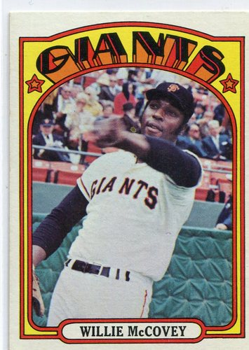 Photo of 1972 Topps #280 Willie McCovey Hall of Famer