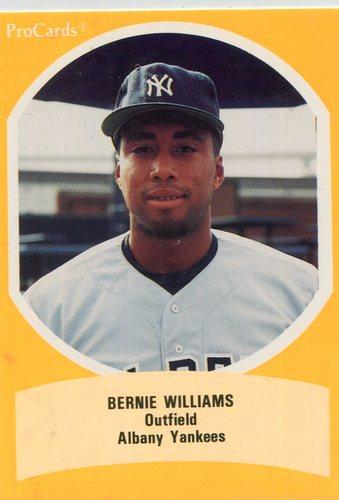 Photo of 1990 Eastern League All-Stars ProCards #EL45 Bernie Williams