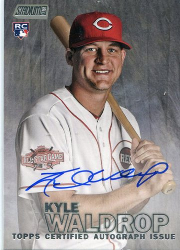 Photo of 2016 Stadium Club Autographs Kyle Waldrop