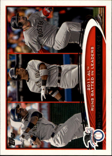 Photo of 2012 Topps #33 Curtis Granderson/Robinson Cano/Adrian Gonzalez LL