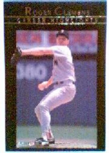 Photo of 1992 Fleer Clemens #10 Roger Clemens/Blood, Sweat and Tears