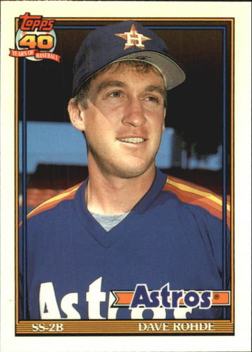 Photo of 1991 Topps Tiffany #531 Dave Rohde