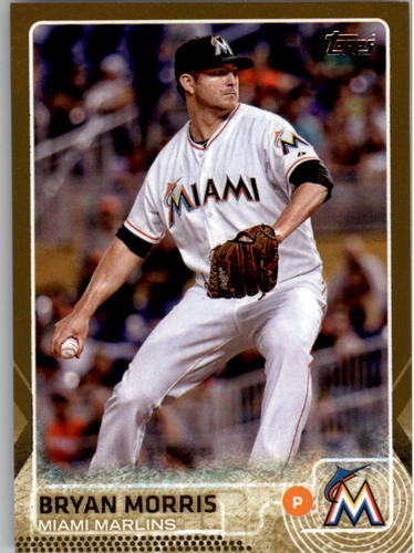 Photo of 2015 Topps Gold #229 Bryan Morris