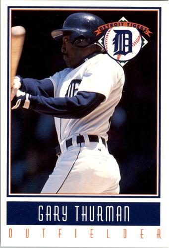 Photo of 1993 Tigers Gatorade #24 Gary Thurman