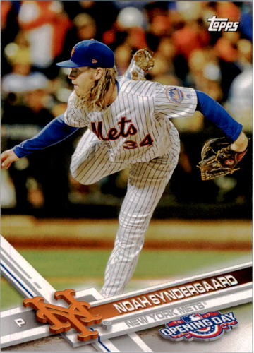 Photo of 2017 Topps Opening Day #190A Noah Syndergaard