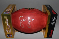 NFL - COWBOYS SEAN LEE SIGNED AUTHENTIC FOOTBALL