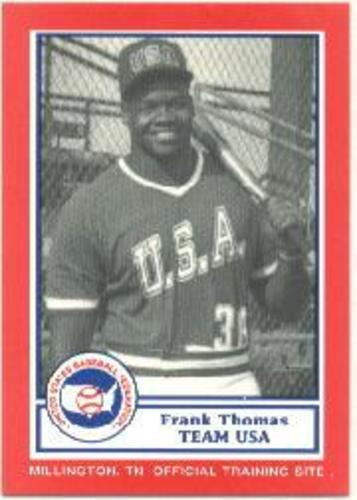 Photo of 1990 Pan Am Team USA Red BDK #23 Frank Thomas