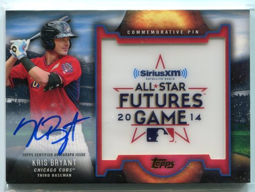 Photo of 2016 Topps Futures Game Pins Autographs  Kris Bryant 05/25