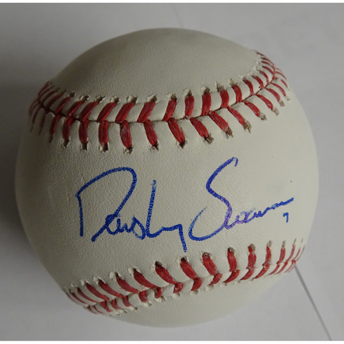 Photo of Dansby Swanson Autographed Baseball - 25% off on Black Friday! (Regular Price: $150)