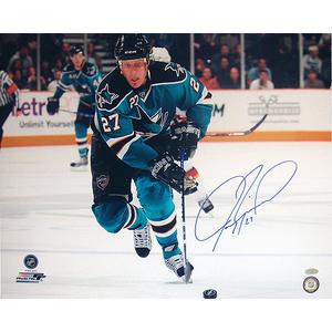 Jeremy Roenick San Jose Sharks Skating Up Ice Horizontal 16x20 Photo + FREE GIFT!