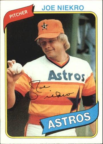 Photo of 1980 Topps #437 Joe Niekro