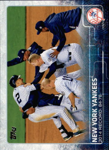 Photo of 2015 Topps #697 New York Yankees