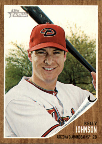 Photo of 2011 Topps Heritage #259 Kelly Johnson