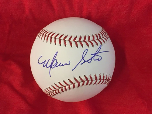 Photo of Mario Soto Autographed Baseball