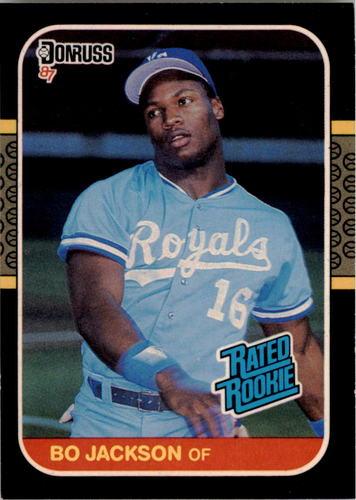 Photo of 1987 Leaf/Donruss #35 Bo Jackson RR RC (Rookie Card)