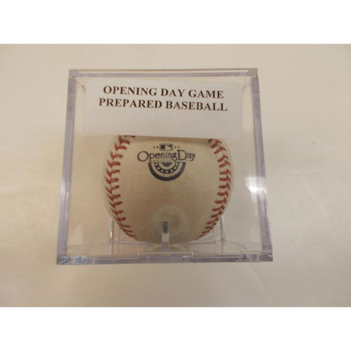 Photo of 2014 Opening Day: Game Ready Ball