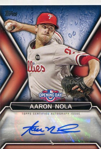 Photo of 2016 Topps Opening Day Autographs Aaron Nola