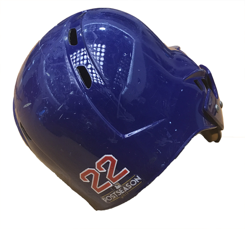 Photo of Jason Heyward 2017 Postseason Batting Helmet