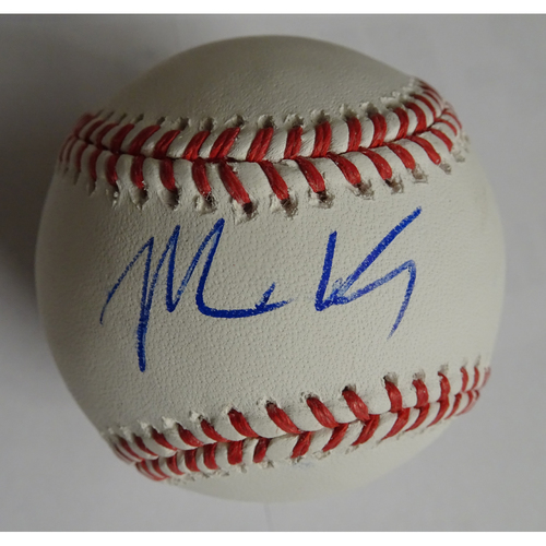 Photo of Matt Kemp Autographed Baseball - 25% off on Black Friday! (Regular Price: $100)