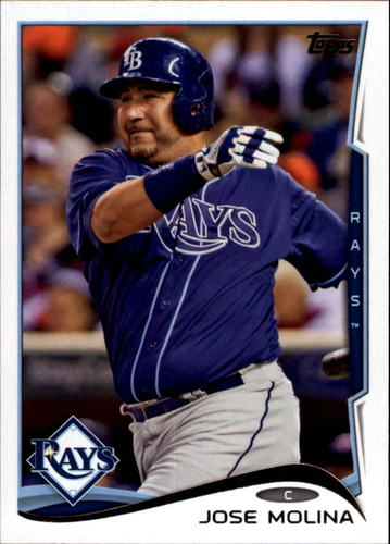 Photo of 2014 Topps Update #US6A Jose Molina